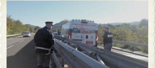 L'assalto armato al furgone Vigilpol andato in scena questa mattina in Sardegna