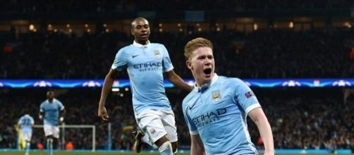 Manchester City 1-0 Paris Saint Germain (agg 3-2): Kevin de Bruyne ... - dailymail.co.uk