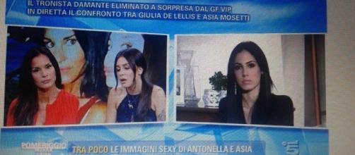 Nuovo scontro tra le Mosetti e Giulia De Lellis
