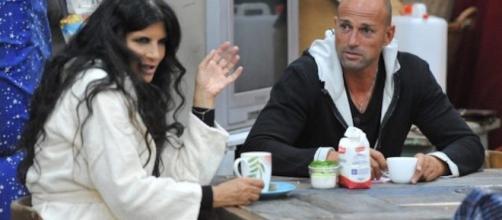 Pamela Prati e Stefano Bettarini al GF Vip
