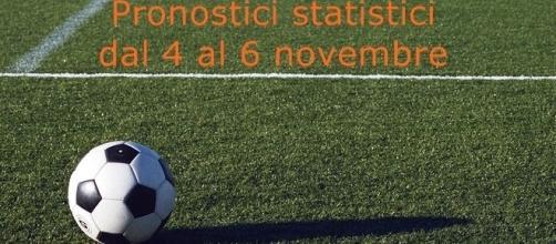 pronostici calcio, le squadre vincenti per le scommesse del week end, 4-5-6 novembre