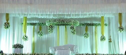 Stunning Wedding Stage Decorations for Christians in Kerala ... - fashionztrend.com