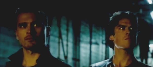 Choosing to save either Damon or Enzo on 'The Vampire Diaries?' - Image via thevampirediaries/Photo Screencap via The CW/YouTube.com