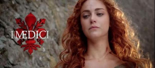 """Miriam Leone è Maddalena ne """"I Medici""""."""
