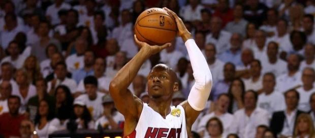 Ray Allen, de tirador con los Miami Heat