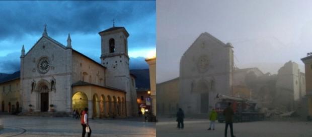 Terremoto a Norcia, crollata la basilica.