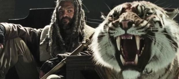 The Walking Dead: Ezekiel e Shiva