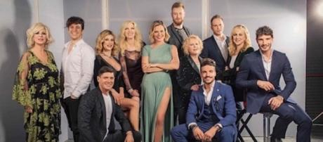 Selfie-Le Cose Cambiano Canale 5_Cast