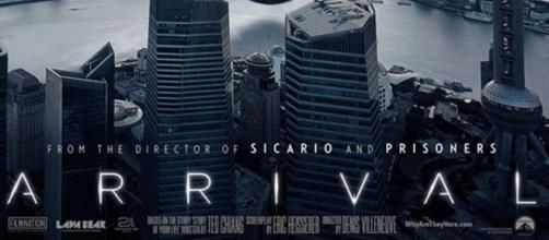"""""""Arrival"""" de Denis Villeneuve est sorti ce week-end au US"""