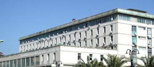 Caltanissetta, il Palazzo di Giustizia