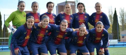 Crónica 1ª División Femenina: FC Barcelona 5-0 Collerense ... - futbolbalear.es