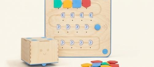 Cubetto aims to teach small children basic coding. / Photo via Filippo Yacob, Primo Toys. Used with permission.