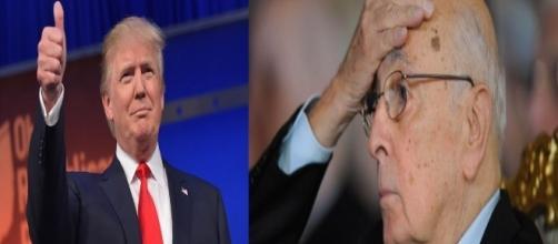 Giorgio Napolitano contro Trump | Tito di Persio