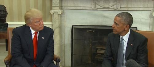 Primo incontro alla Casa Bianca fra Donald Trump e Barack Obama