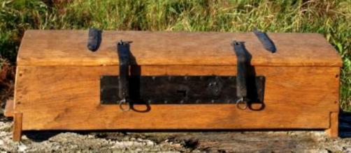 Recreación de una caja de herramientas vikinga