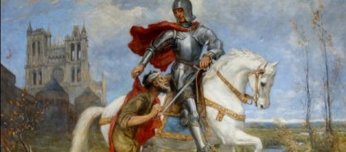 San Martino in un dipinto di Wilfred Thompson