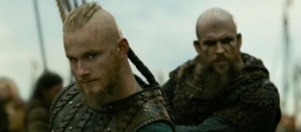 Bjorn and Floki in 'Vikings'/Photo via screencap, 'Vikings'