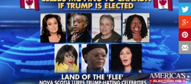Celebs who Want to Leave if Trump is Elected – The Burning Platform - theburningplatform.com