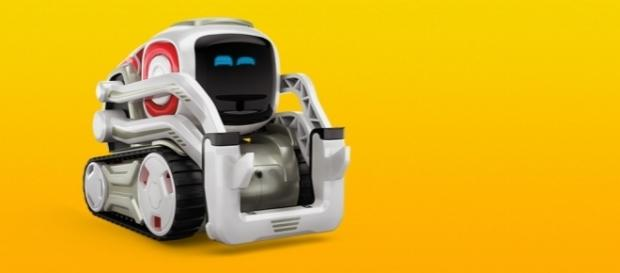 Cozmo is a small robot which is the the latest toy offered by Anki. / Photo via Brett Gold, DKC News PR. Used with permission.