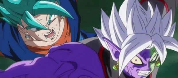 Dragon Ball Super: El final Kameh hame ha de Vegetto contra la fusión de Zamasu
