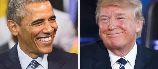 Facci a faccia tra Donald Trump e Barack Obama