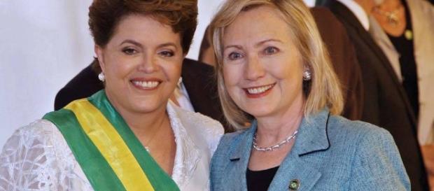 Hillary já esteve com Dilma quando brasileira foi eleita