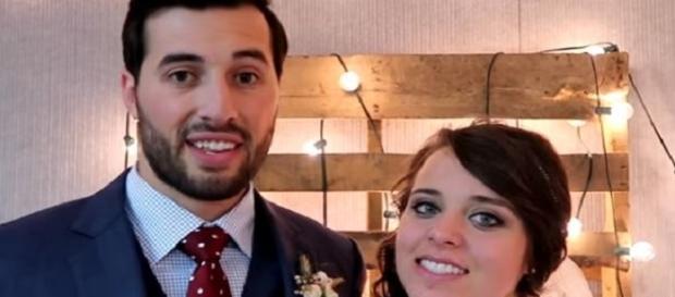 Jinger Duggar wed Jeremy Vuolo-Photo credit by TLC/YouTube