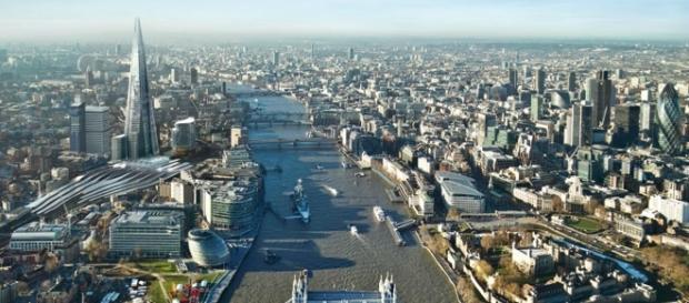 Londra, capitala Regatului Unit, este cel mai mare centru economic și financiar al Europei