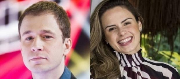 O clima esquentou no Twitter entre a ex-BBB Ana Paula e o apresentador Tiago Leifert.