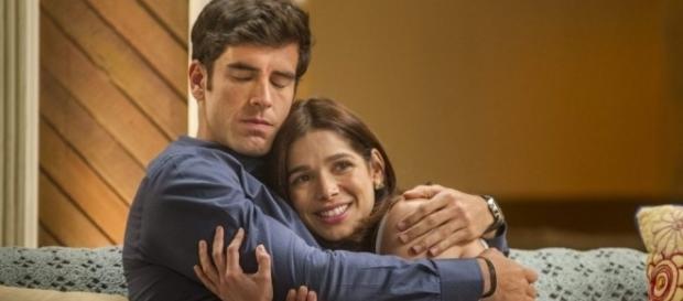 'Shirlipe' o casal mais amado da novela 'Haja Coração'