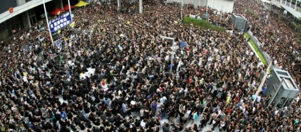 Thousands protest to 'defend Hong Kong's core values' after failed ... - scmp.com