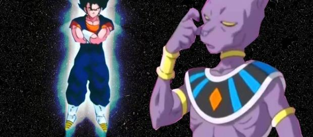 vegetto dios azul y bills sama d