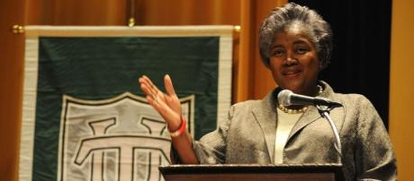 """Wkimedia: Featured Speaker Donna Brazile: """"Finding Ourselves: The Direction of the Black Academic"""" March 28, 2011"""