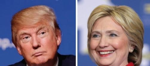 Donald Trump e Hillary Clinton - larepubblicaveneta.it
