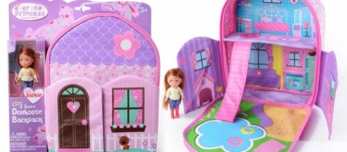 'Everyday Princess' is a line of backpacks that double as dollhouses. / Photo via Lisa Orman, KidStuff PR. Used with permission.