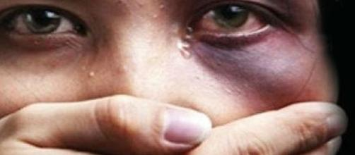 Foto ilustrativa da violência contra a mulher