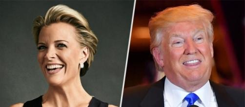 Megyn Kelly vs. Donald Trump in Kelly's new book. Photo: Blasting News Library - people.com