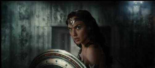 Wonder Woman dans le film Justice league