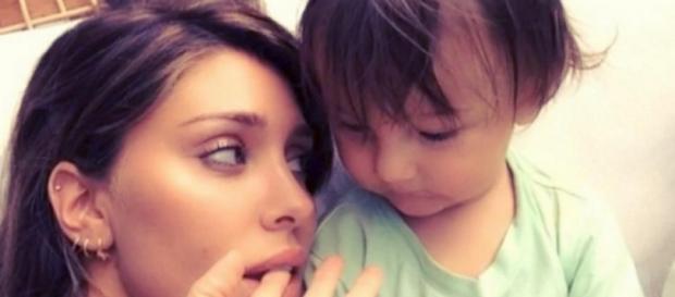 Belen Rodriguez : Belen con il figlio Santiago