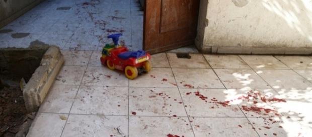 Bombardeio matou seis crianças na Síria (Foto: Bassam Khabieh/Reuters)