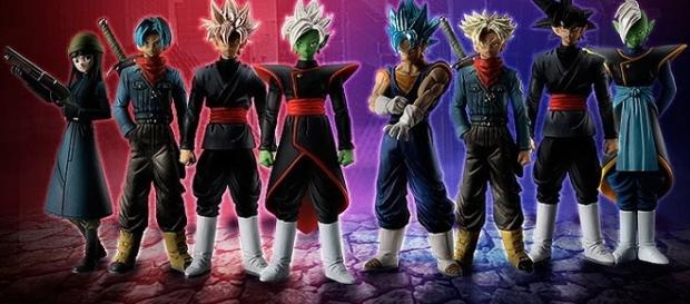 Colección Completa de la saga de Trunks del futuro (Bandai).