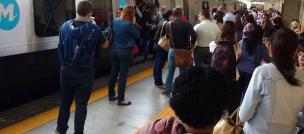 Composição do Metrô Rio - globo.com