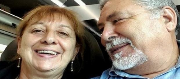 Gianna assassinata da un ignoto, nella foto col marito Antonio Tizzoni