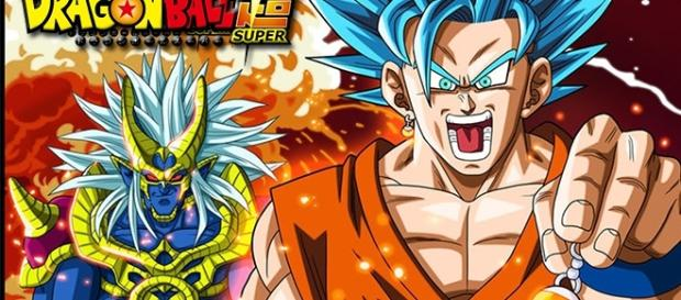 God of Creation and Son Goku. Image from Wikipedia