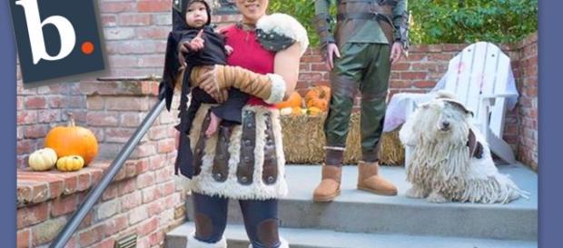 La familia de Mark Zuckerberg de guerreros vikingos