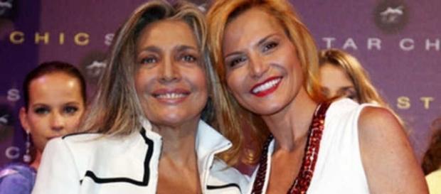 Mara Venier toglie la parola a Simona Ventura.