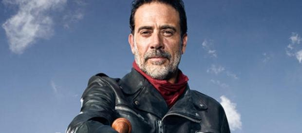 Negan visits Alexandria this week with Daryle in tow. Photo: Blasting News Library - comicbookmovie.com
