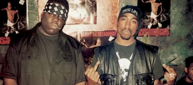 Notorious B.I.G. e Tupac Shakur.