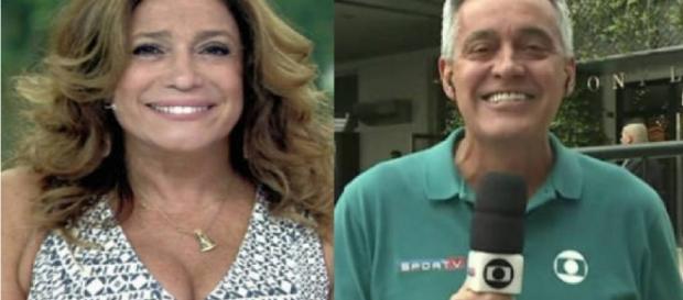 Susana Vieira e Mauro Naves - Google