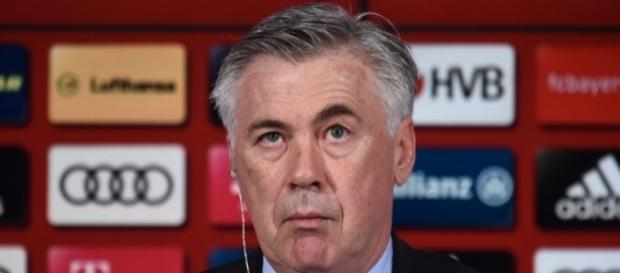 Técnico Carlo Ancelotti, do Bayern de Munique